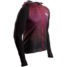 Compressport 3D Thermo Seamless Hoodie Unisex Red